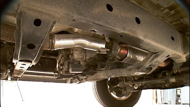 Tuttle Man Accused Of Stealing Dozens Of Catalytic Converters Arrested