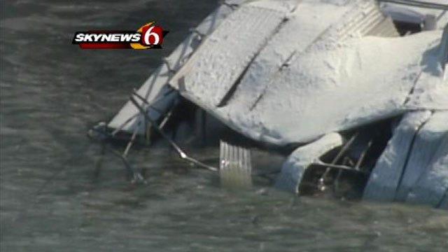 Oklahoma Insurance Commissioner Tours Blizzard Damage At Grand Lake