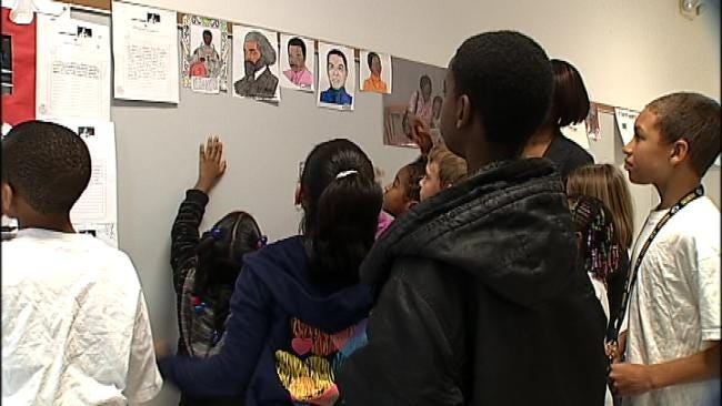 Students At One Tulsa School Discuss Black History Month