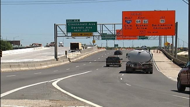 Tulsa's IDL Construction Project Completed, Reopened