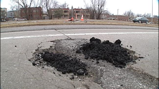 ODOT On Pothole Patrol After Snow Storms, Freezing Temperatures