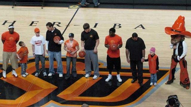 OSU Coaches, Kids 'SWISH' For Cancer Fundraiser