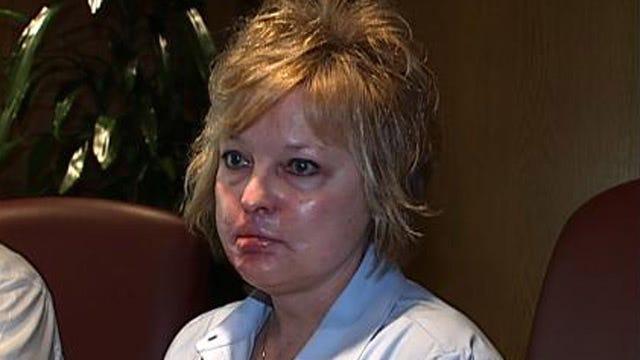 Collinsville Teacher Burned During Surgery Speaks Out Against Lawsuit Caps