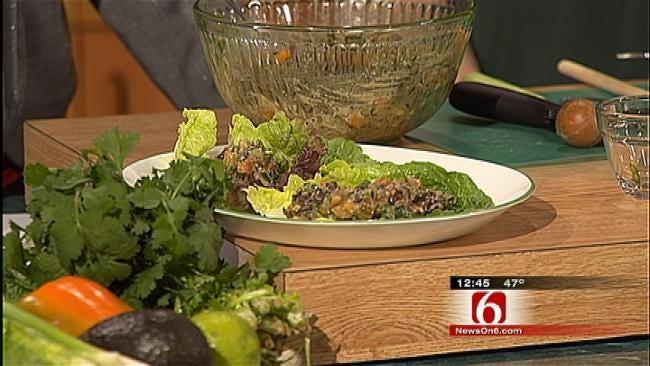 Black Bean Lettuce Bundles