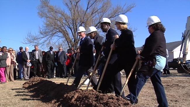 West Tulsa Community Center Project Breaks Ground