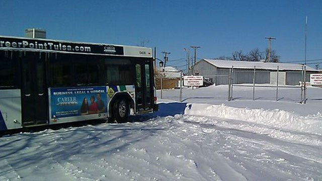 Tulsa Buses Running, Courthouse Still Closed