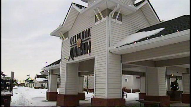 Waterline Break Damages Oklahoma Aquarium In Jenks