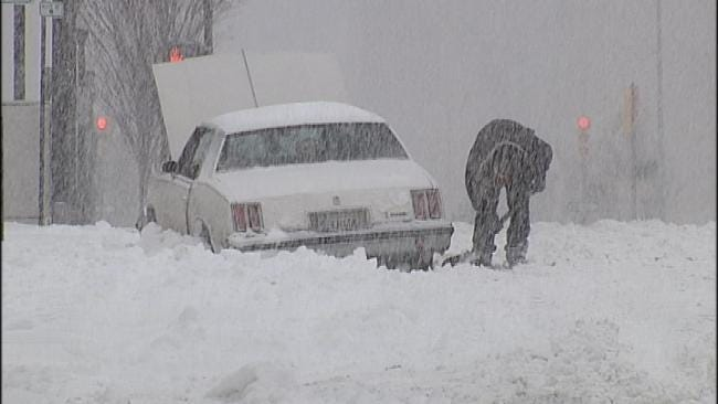 City Of Tulsa Changes Snow Plowing, Removal Strategy