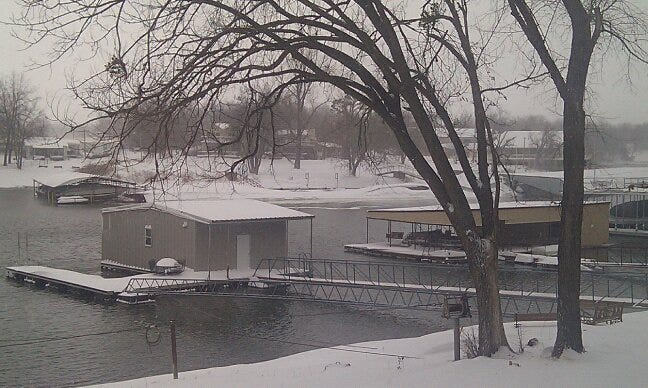 Grand River Dam Authority Asking Public To Stay Off Ice At Area Lakes