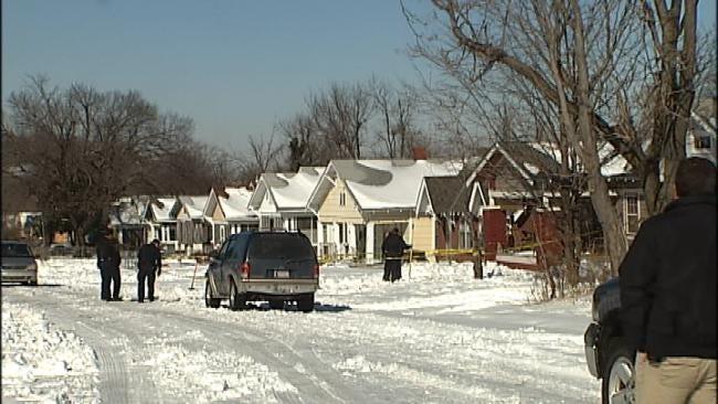 Man Arrested After North Tulsa Man Shot, Killed Shoveling Snow
