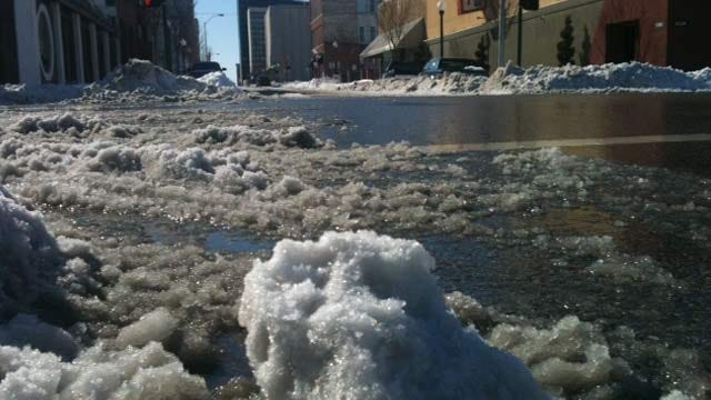 Tulsa County Returning To Normal As Snow Begins To Melt