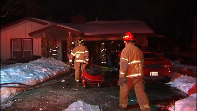 Tulsa Family Wakes To Early Morning Fire