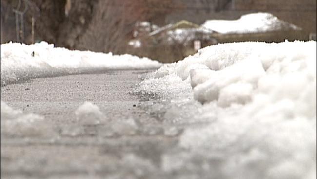 City Of Tulsa Snow Plows Target More Neighborhood Streets