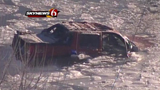 Oklahoma Highway Patrol To Recover Pickup Truck In Fatal Turnpike Crash