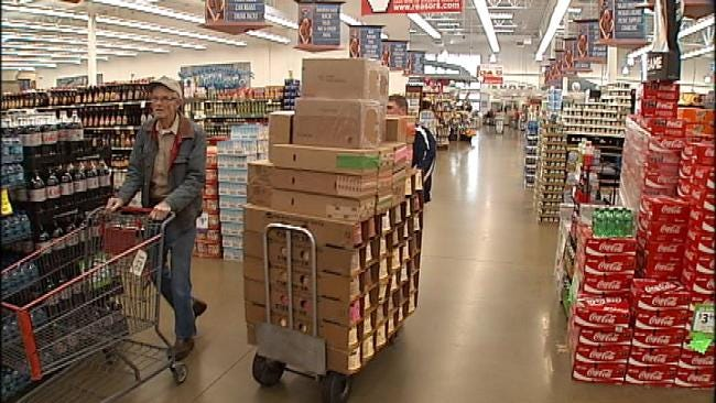 Tulsa-Area Residents Stocking Up Ahead Of Another Winter Storm