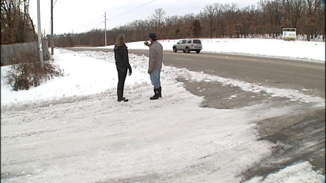 Car Stuck In Tulsa Snow Stolen By Fake Good Samaritans