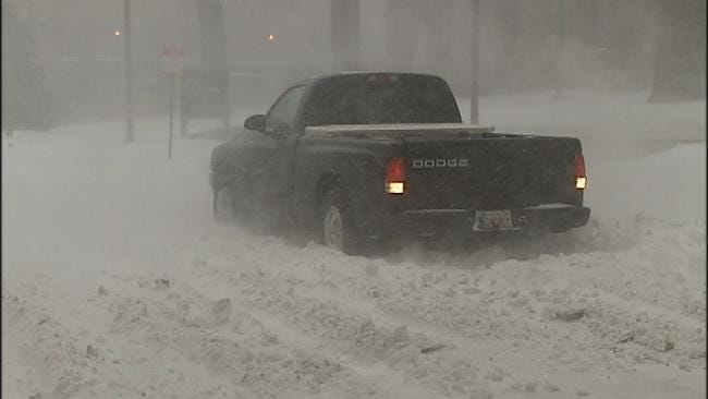 Tulsa Red Cross Closing Most Shelters For Stranded Motorists