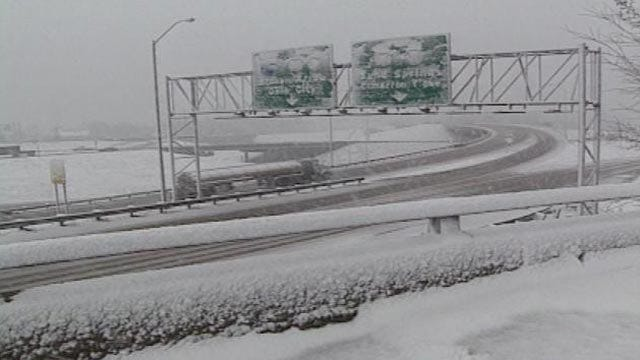 Tulsa's Second Winter Storm Could Break 1924 Record