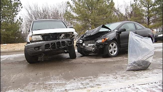 Slick Roads Blamed For Two Deaths Across Oklahoma