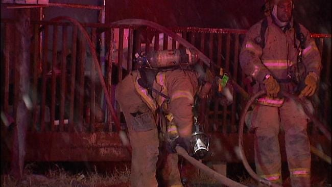 Space Heater Sparks Tulsa House Fire Monday Evening