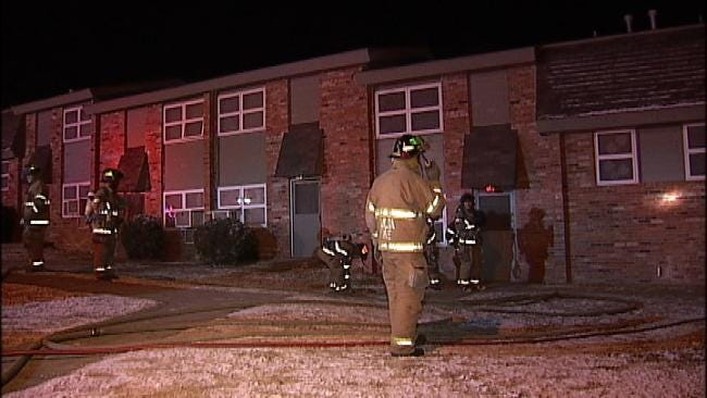 Candle May Have Started Tulsa Apartment Fire