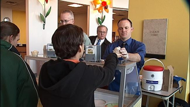 Saint Francis Children's Hospital Patients, Parents Given Special Treat From Blue Bell