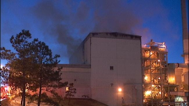 Tulsa Firefighters Contain Fire At Trash-To-Energy Plant