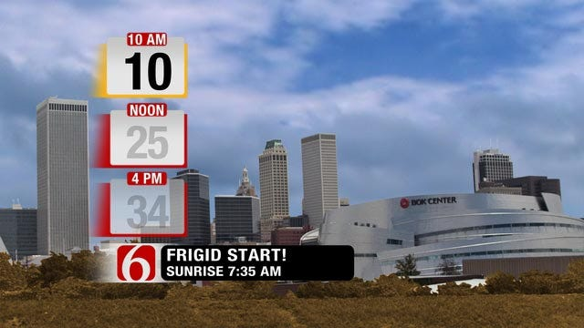 NE Oklahoma Wakes Up To Very Chilly Temps On Thursday