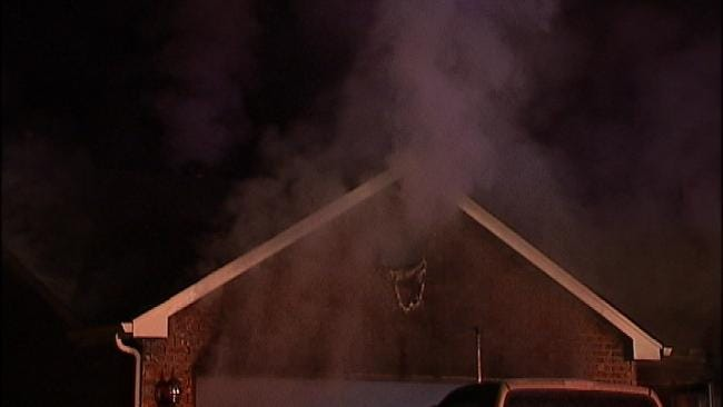 Sand Springs Firefighters Say Alert Teenager Saved Her Family