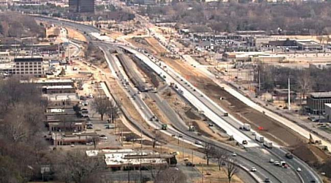 Additional I-44 Construction Project Begins Monday In Tulsa