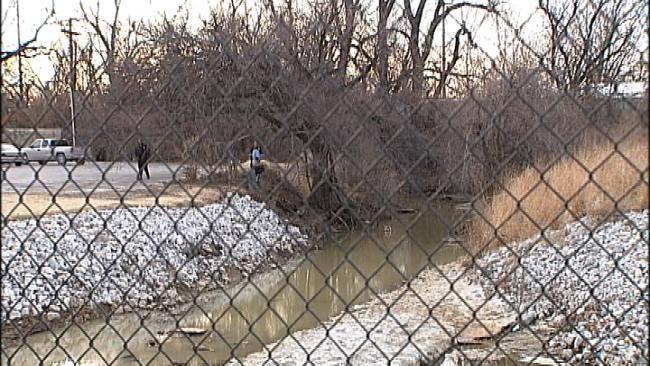 Tulsa Police Investigate Man's Body Found Near Creek