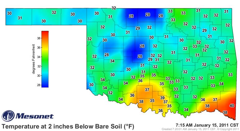 A Look at Soil Temperatures.