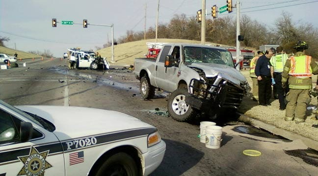 Woman Killed In Two Car Collision At North Tulsa Intersection