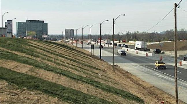 New I-44 Widening Project Underway In Tulsa