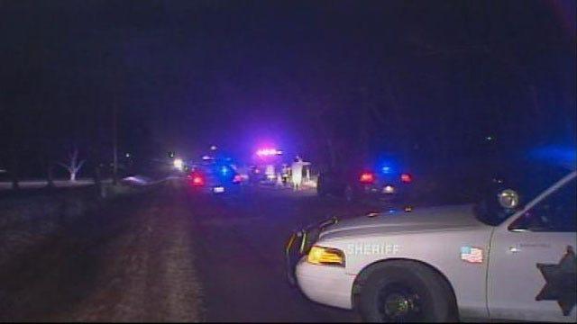 Tulsa Deputies Search For Suspect In Deadly Double Shooting