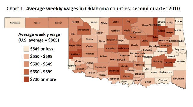 Labor Department Report Shows How Oklahoma Jobs Measure Up