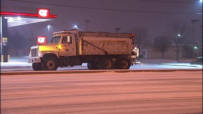 Road Crews Using Salt To Treat Tulsa Streets