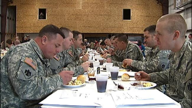 Church Reaches Out To Sapulpa Soldiers Getting Ready To Deploy