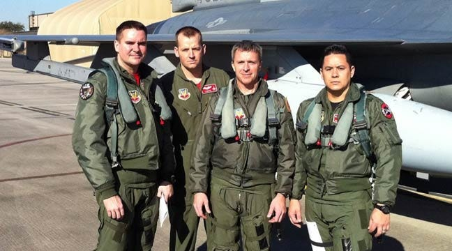 Four Oklahoma F-16 Pilots To Perform Flyover At Packers-Bears Game