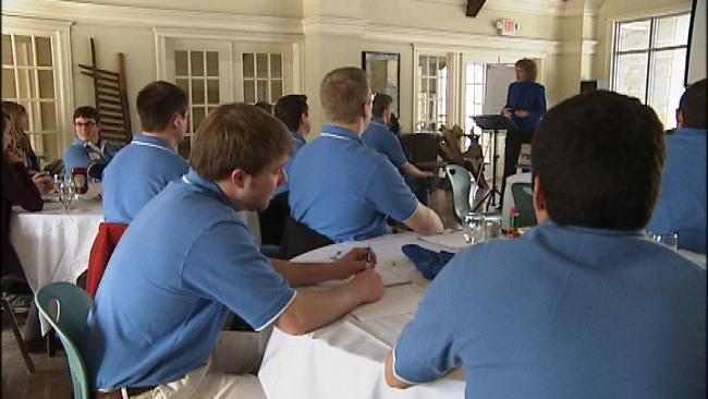 TU Students Learn Job Interview Skills