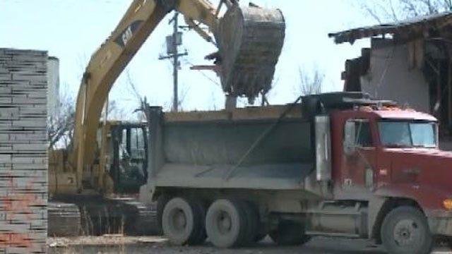 Demolition Begins In Picher