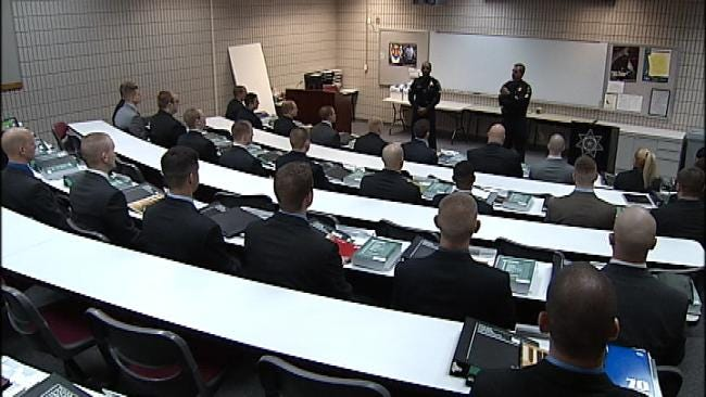 More Than 40 Cadets Training To Become Tulsa Police Officers