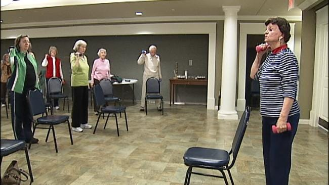 Tulsa Seniors Sing, Paint And Play Pickle Ball