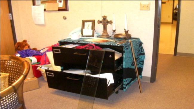 Vandals Strike Wagoner Church
