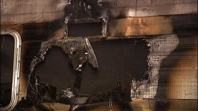 Tulsa Man Rescues Neighbor From Burning RV