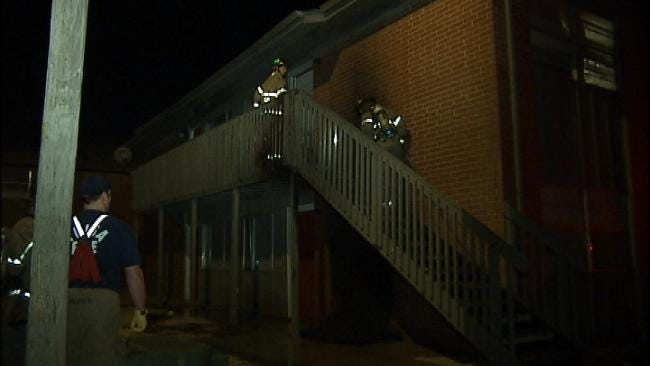 Burning Mattress Damages Two Tulsa Apartment Units