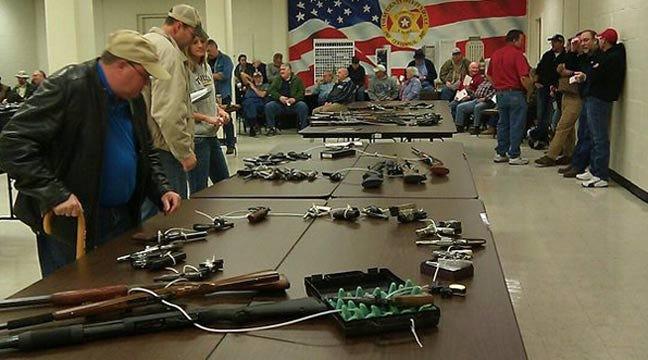 Tulsa Sheriff's Office Raises $22K With Unclaimed Guns Auction