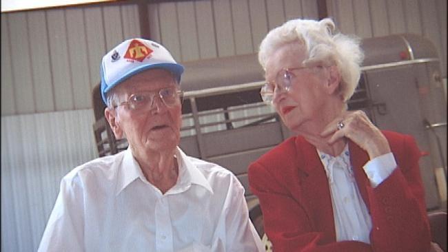 Oklahoma World War II Veteran, Cancer Survivor Laid To Rest