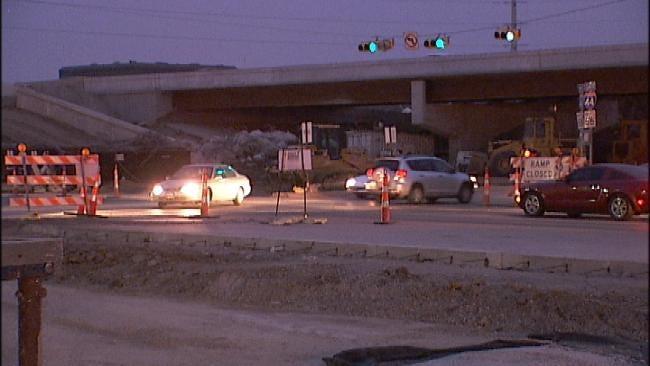 Harvard Reopens In Tulsa After I-44 Bridge Demolition