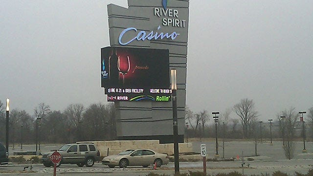 Tulsa's River Spirit Casino Re-Opens Monday Morning